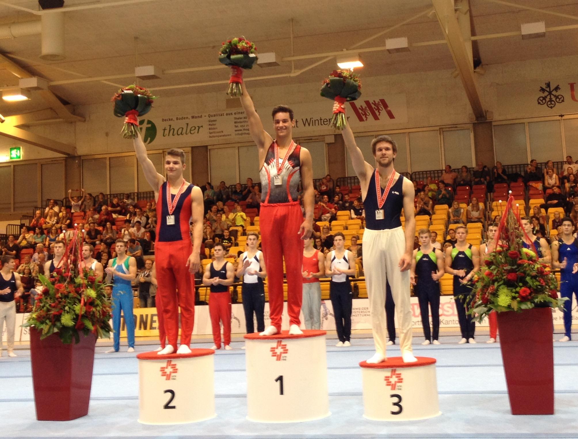 Nathan Bösiger: champion suisse amateur (GAM) 2015.